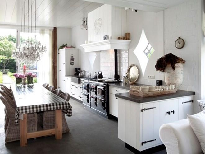 Keukens oudhollandse keuken bouwbedrijf hans bossen - Keuken oud land ...